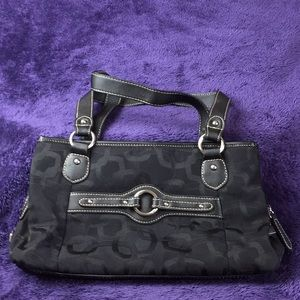 Rosetta Black Bag